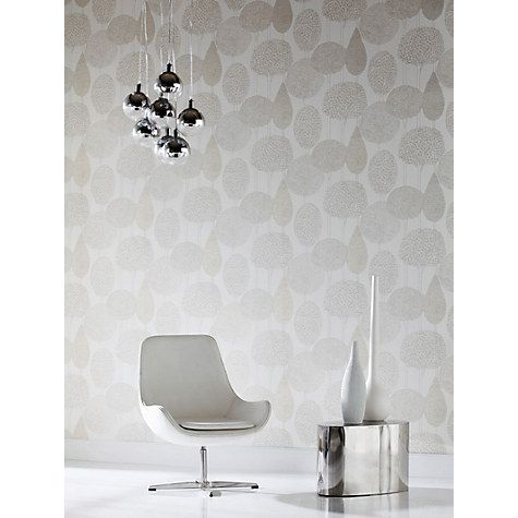 Harlequin Silhouette Wallpaper, Oyster 60115 | Wallpaper online ...