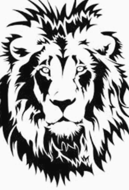 Shreyas ᴛᴀᴛᴏᴏ Adli Kullanicinin Tiger Stencil Panosundaki Pin