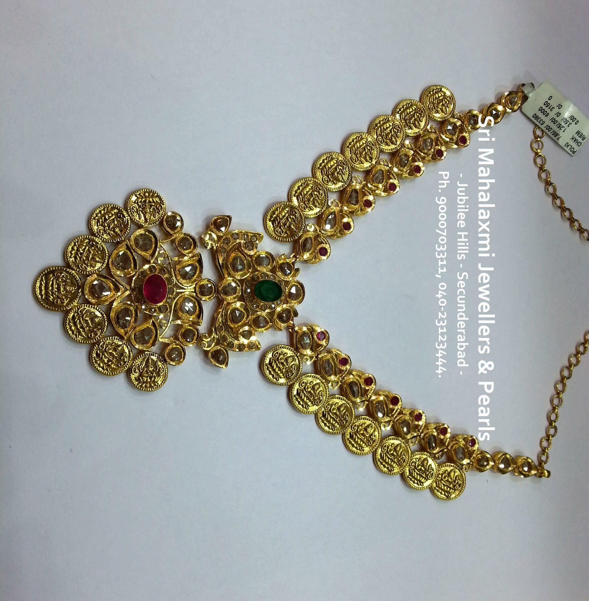 Pin by manjula ganta on gold necklaces pinterest jewel gold