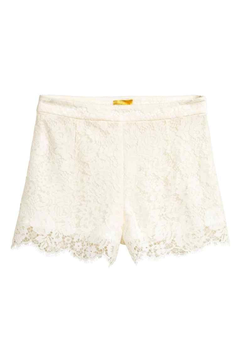 Pantalón corto de encaje en 2019 | Pantalones cortos de