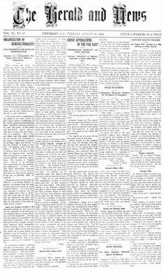 South Carolina historical newspapers