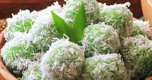 Kue Klepon Dari Tepung Ketan Isi Gula Merah Resep Masakan Indonesia Kue Tepung