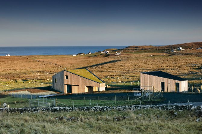 Kendram Turf House Rural Design Architects Isle Of