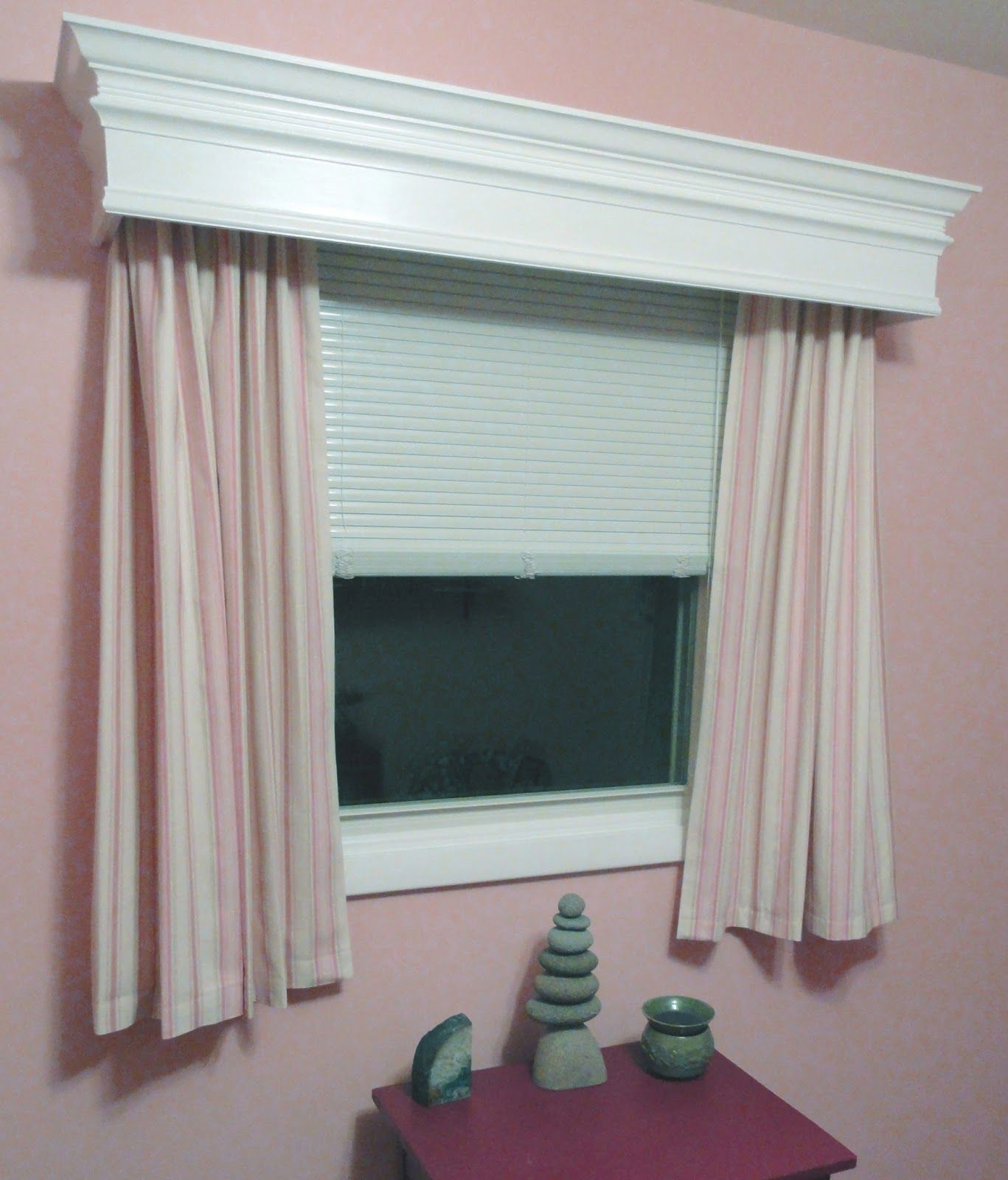 wooden window cornice ideas