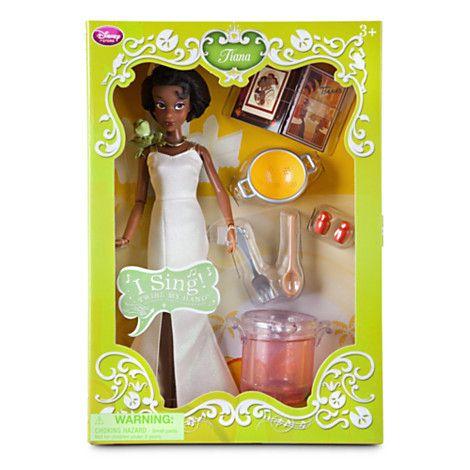 Tiana Deluxe Talking Doll Set - 11''