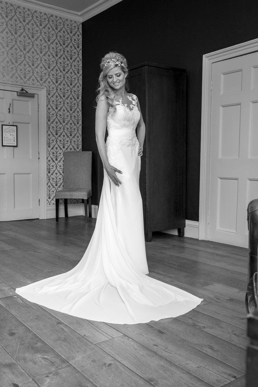 Our bride in the beautiful Prosal by Pronovias   Wedding   Pinterest ...