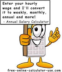 Hourly to Annual Salary Calculator | Business - Success