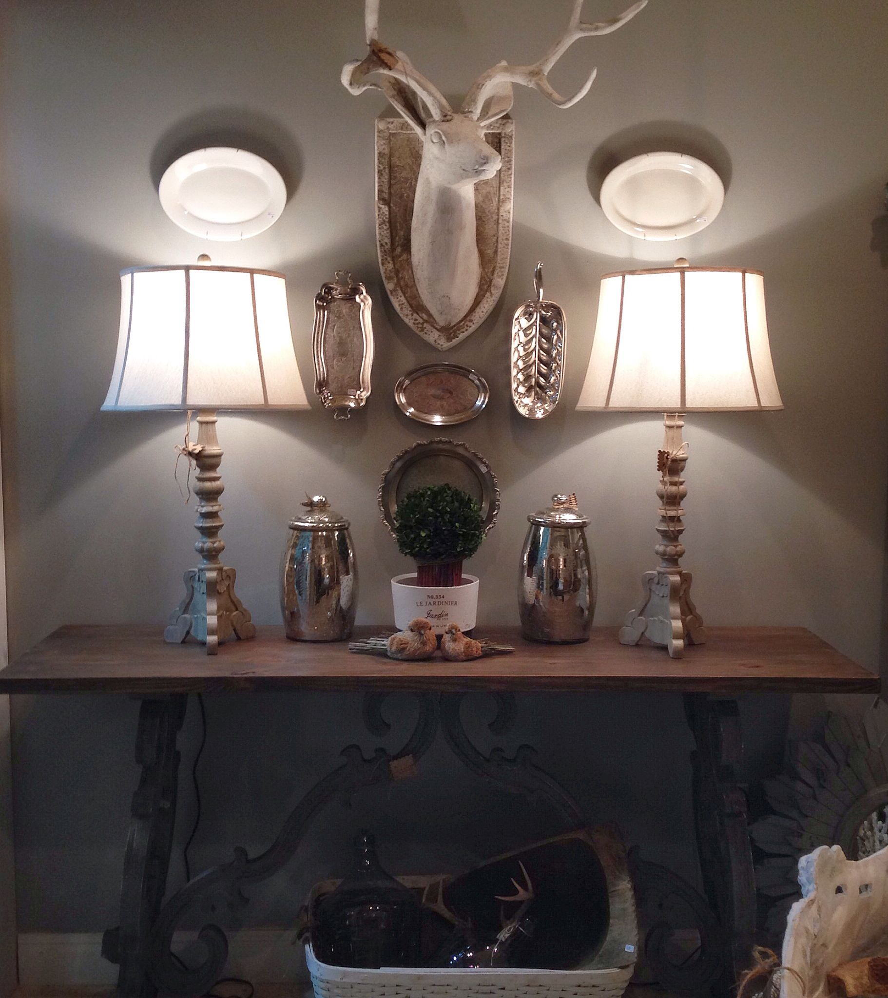 New Arrivals at Circa Antiques Cast iron deer head