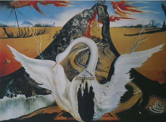 Salvador Dalí (19041989, Spanish), 1988, Bacchanale,Litho