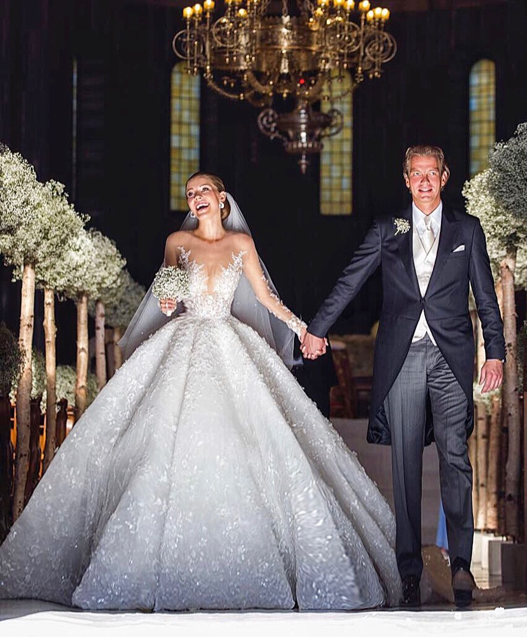 "Photo of MICHAEL CINCO Dubai on Instagram: ""Swarovski heiress VICTORIA SWAROVSKI's wedding in Italy last June broke the internet and named as the most expensive celebrity wedding…"""