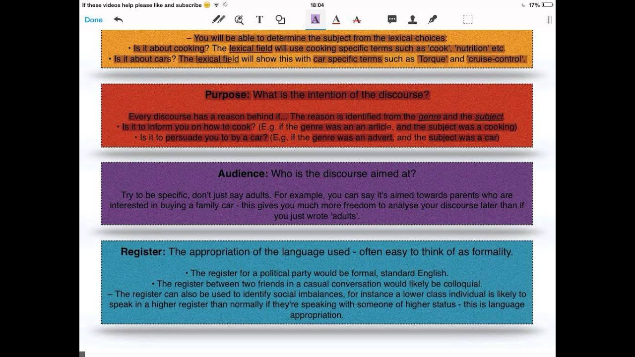 A And A2 Level English Language Framework Analysing Di Ocr Literature Essay Structure