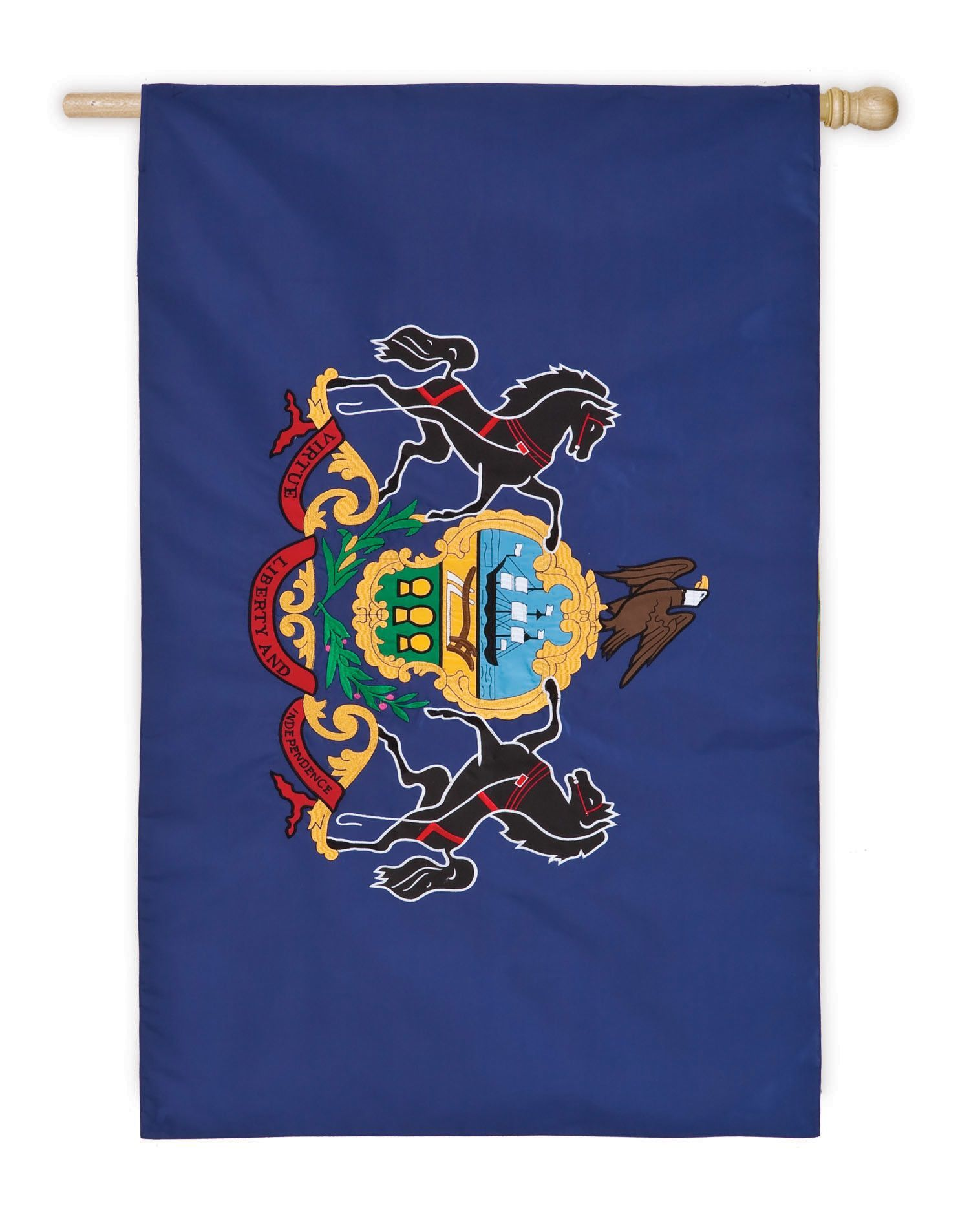 Pennsylvania State Vertical Flag
