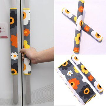 Ougar8 Refrigerator Door Handle Covers Protective Electrical Kitchen Appliances Gloves Fridge Microw Fridge Handle Covers Small Sewing Projects Sewing Projects
