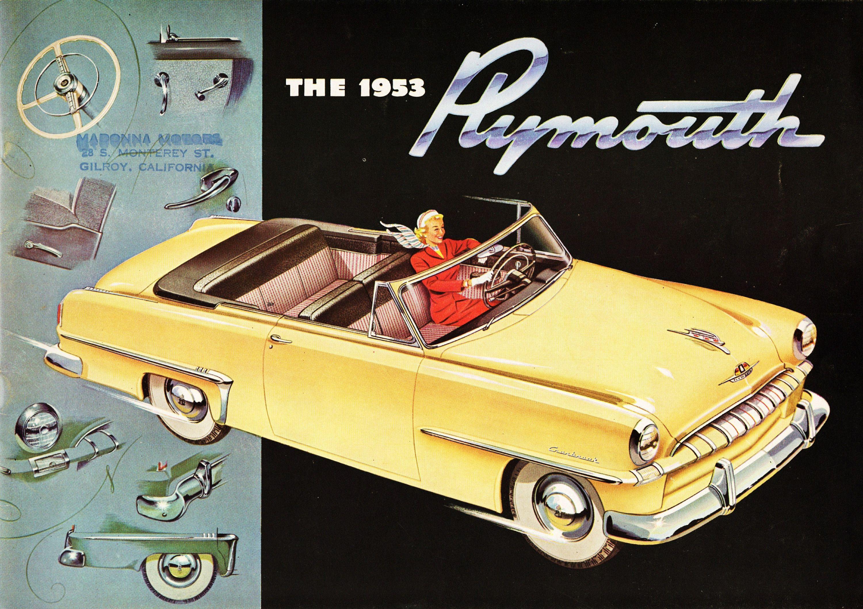 1953 Plymouth Cambridge Convertible Advertising Pinterest Savoy Wagon