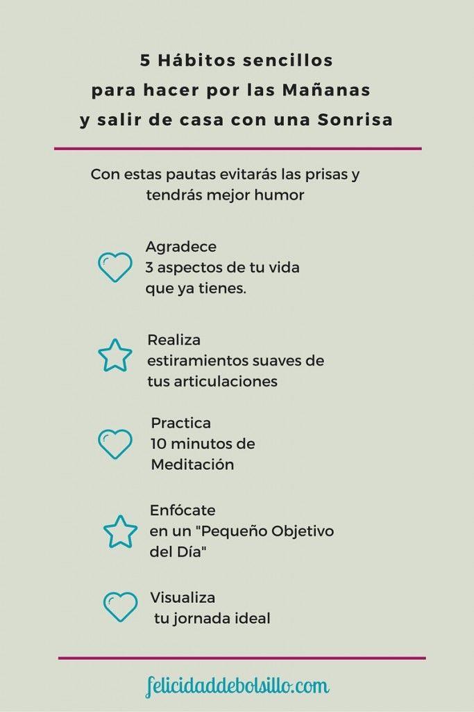 5 Hábitos Para Empezar El Día Con Ganas Y Mejor Humor Emocional Pensamientos Autoayuda