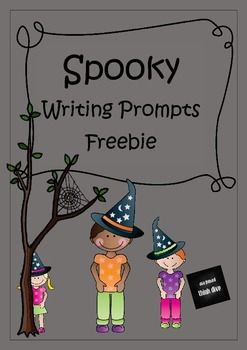 Spooky Writing Prompts | ☆Teaching Writing in Kindergarten & First