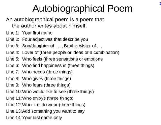 Who am i creative writing essay