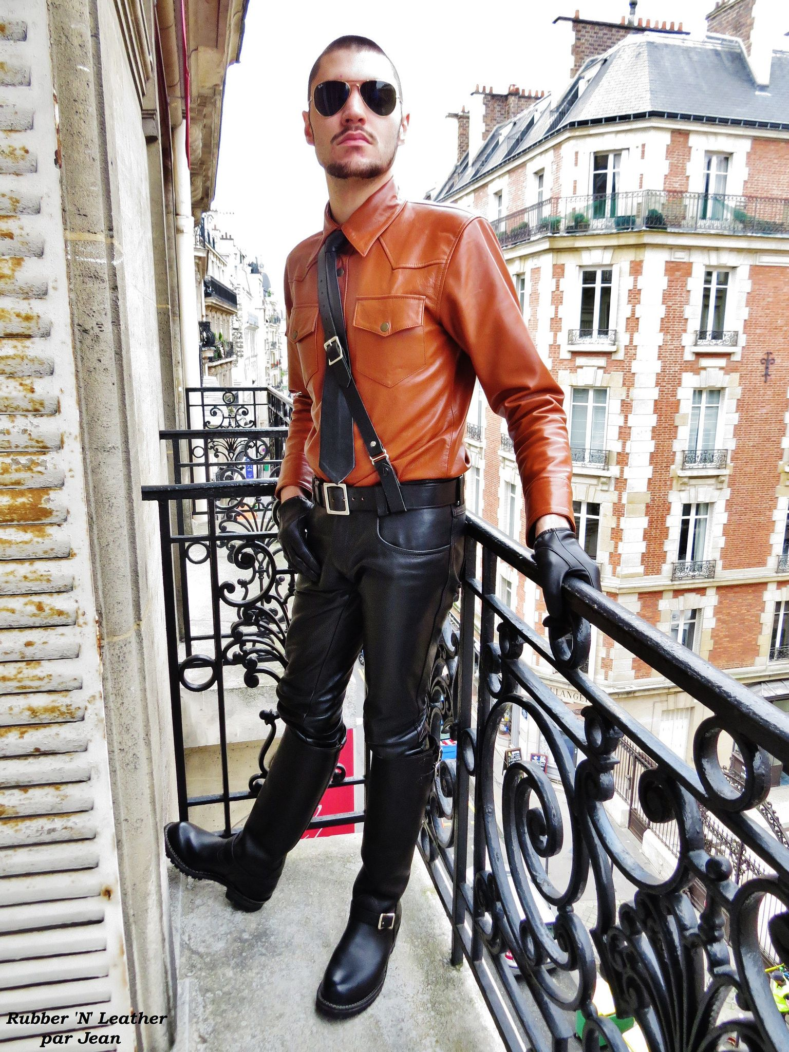 Cuir complet pinterest leather suit shirts and menus fashion