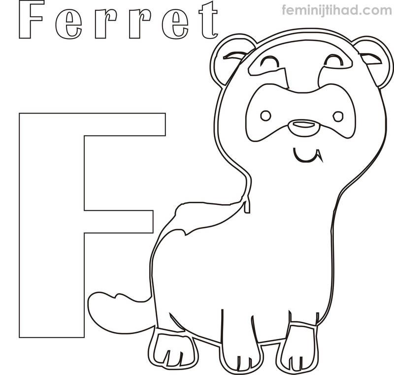 Printable Ferret Coloring Pages Free Coloring Sheets Ferret Colors Coloring Pages Coloring Pages To Print