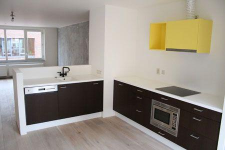 Half Open Keuken : Halfopen keuken halfhoge scheidingswand woonkamer inspiratie