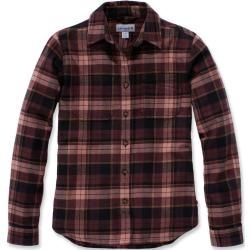 Photo of Carhartt Hamilton Women's Flannel Shirt Black Red Xs Carhartt