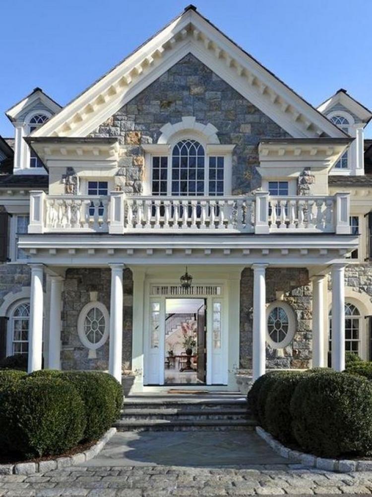 63 Wonderful Stone Brick House Exterior Ideas Brick Exterior House House Exterior Beautiful Homes