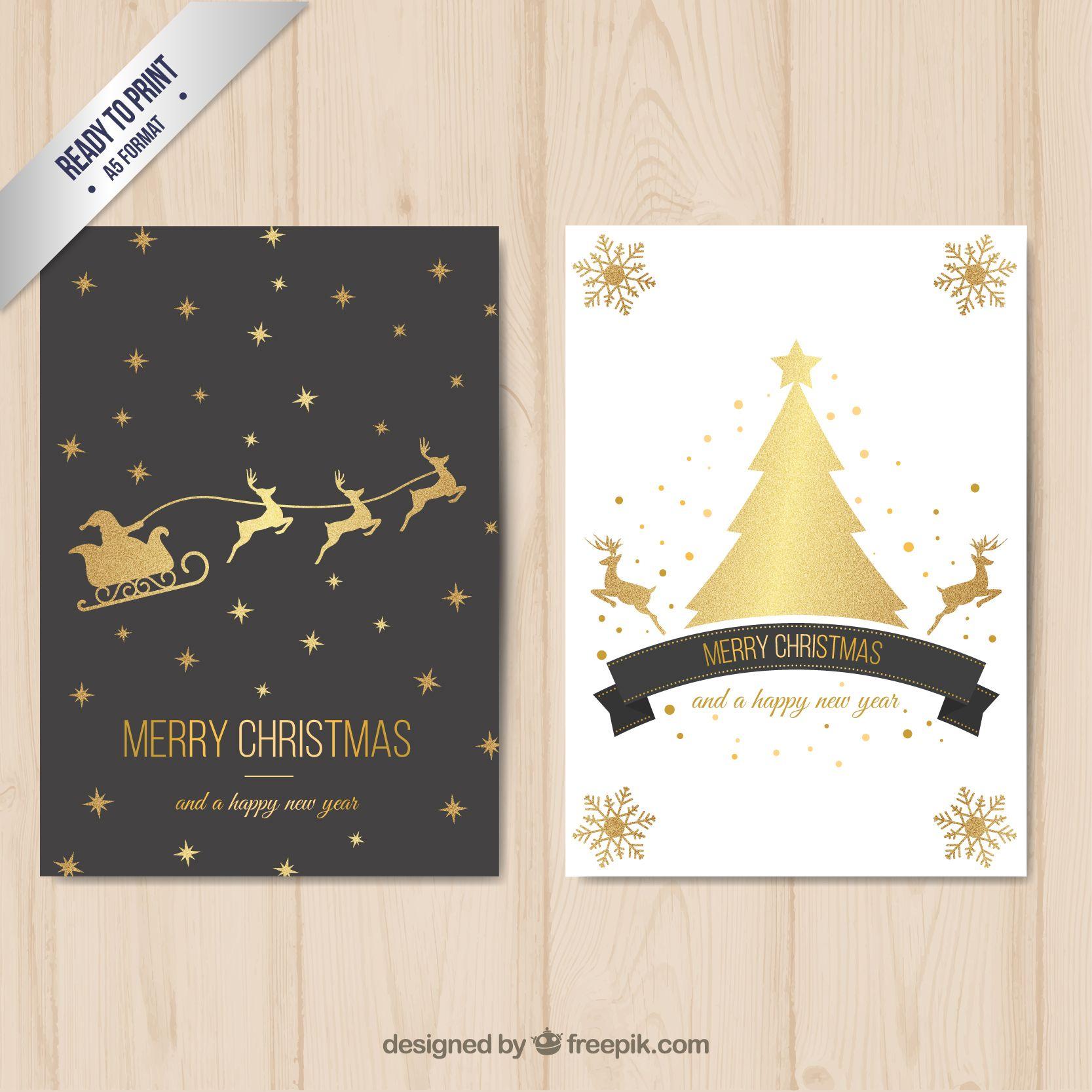 3 Biglietti Auguri Di Natale Da Stampare Gratis Natale