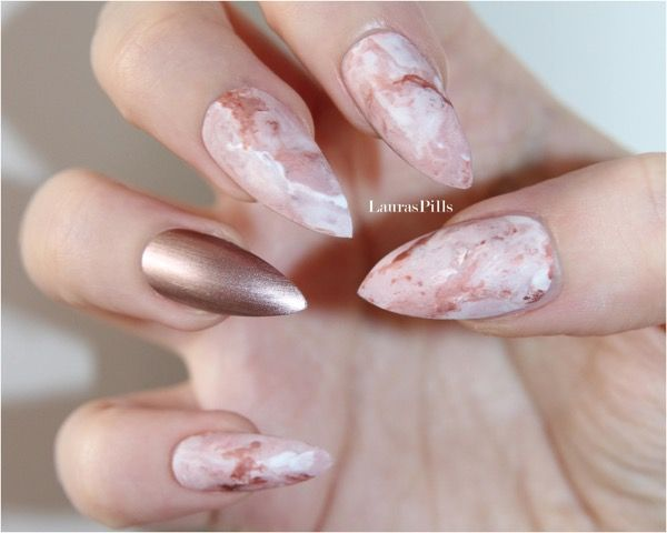 Photo of The Popular Today Trends For Marble Black Stiletto Nails