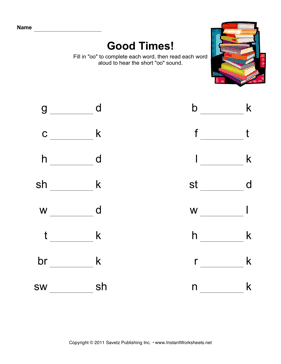 8182d519eb4ca50a4e272117951dba22 Oo Words Worksheets For First Grade on dolch sight, high frequency sight, work phonics, color sight,