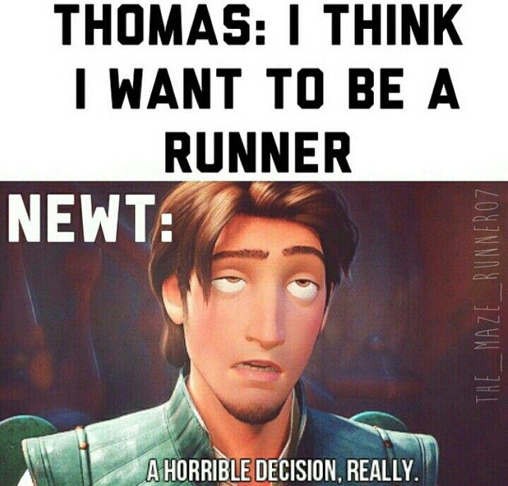 Eugene as Newt. Totally works.