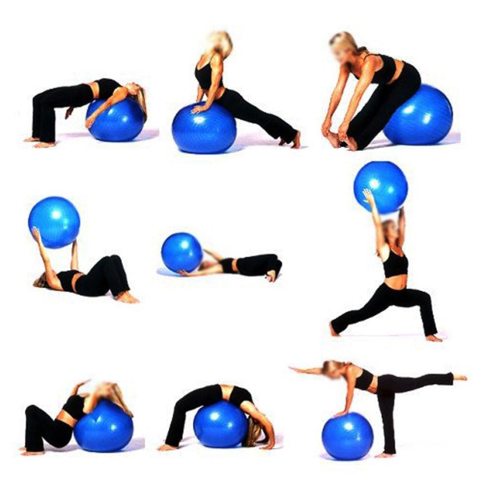 Pilates Ball Exercices Exercices De Yoga Yoga Gratuit Exercice