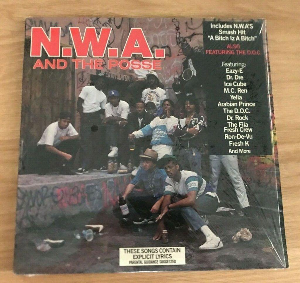 Nwa Nwa The Posse Vinyl Limited Lp In Lenticular Sleeve 1989 In 2020 Nwa And The Posse Vinyl Posse