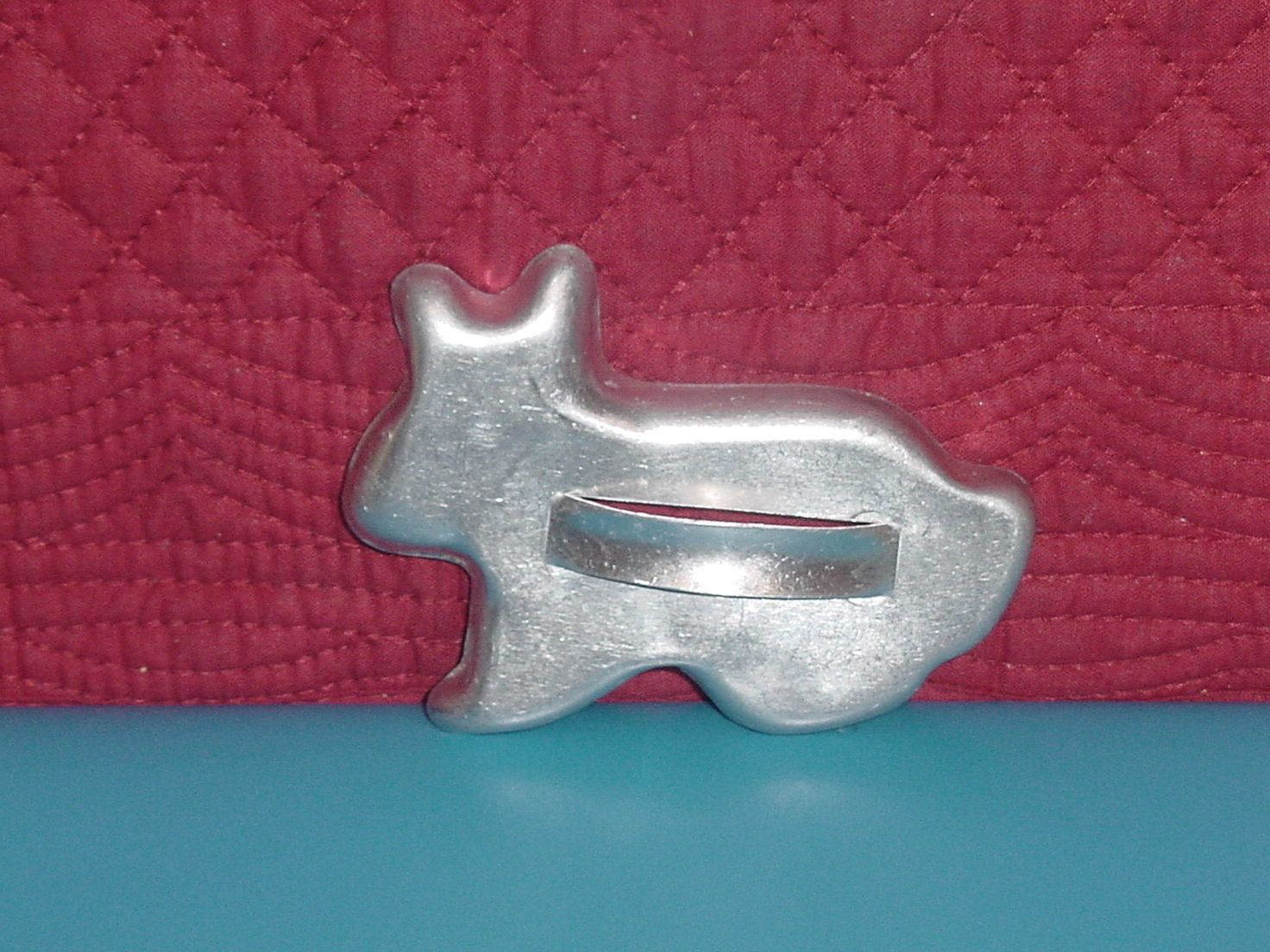 3 Vintage Cookie Cutters Vintage Kitchen Decor Angel Cookie Reindeer Cookie Mold Holiday Copper Colored Aluminum Christmas Cookie Cutters