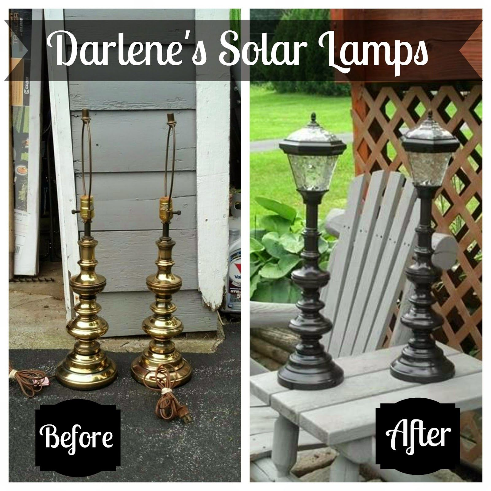 Redo It Yourself Inspirations : Cut The Cord: Solar Lighting Lamps
