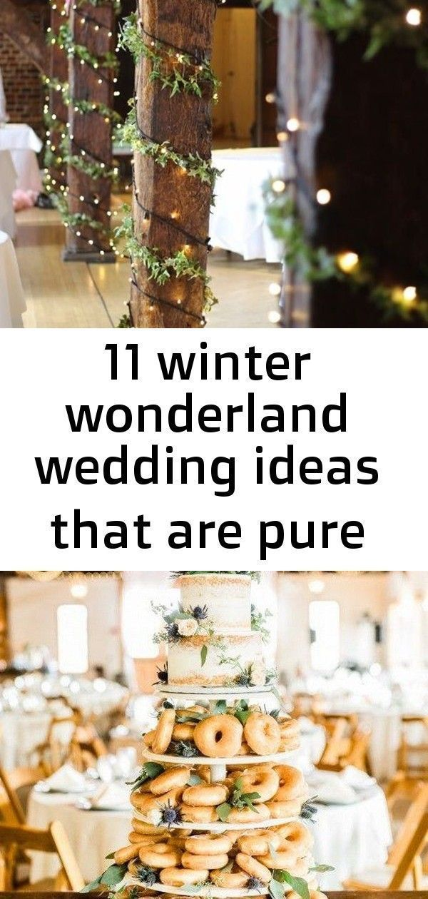 11 winter wonderland wedding ideas that are pure magic 3#ideas #magic #pure #wed...