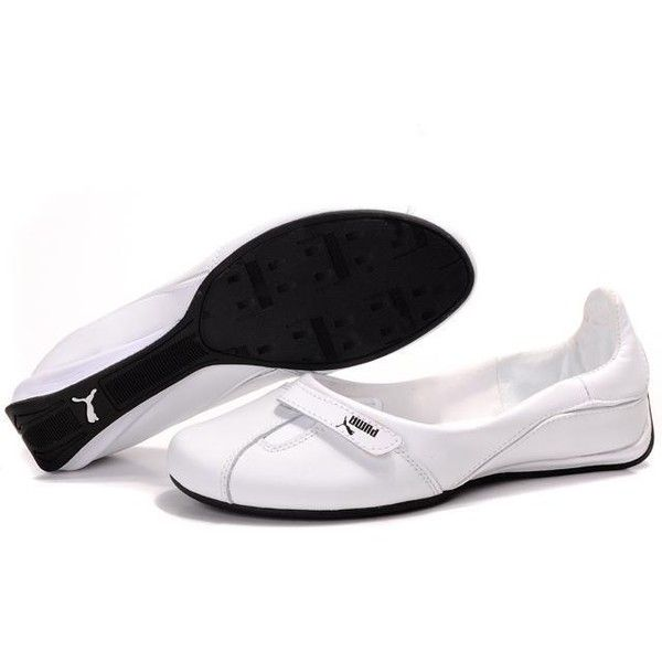 Classic Womens Puma 2 On Behalf Sandals White Black For Sale