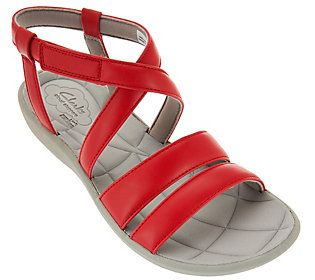 2aea6a04e15b Clarks Cloud Steppers Multi-strap Sport Sandals - Sillian Spade ...