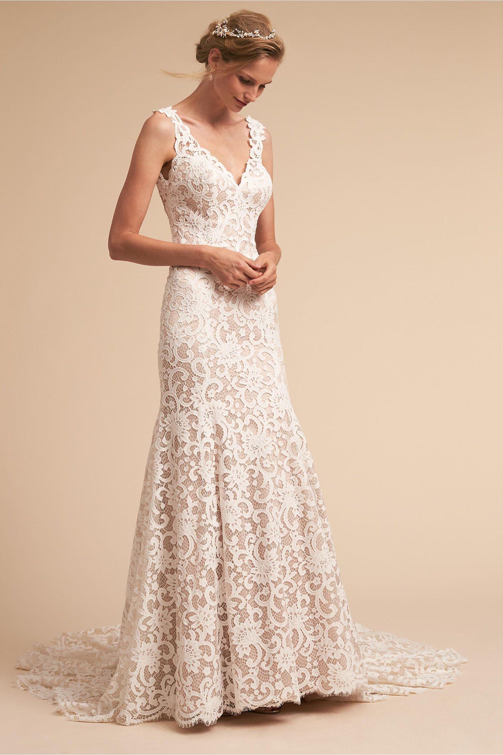 Tulle skirt wedding dress  BHLDN Harlow Gown  Wedding  Pinterest  Wedding dresses Wedding