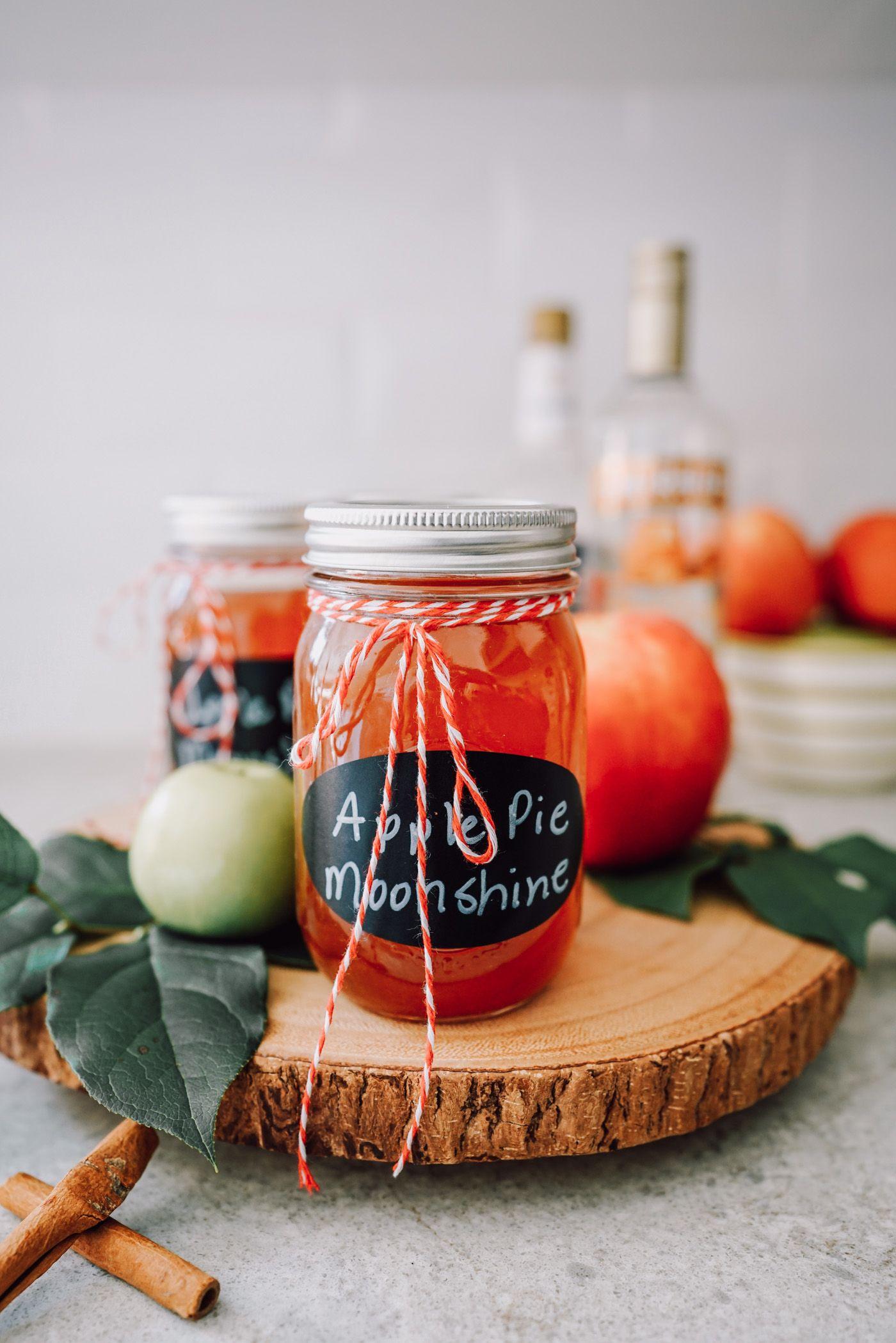 Instant Pot Apple Pie Moonshine Apple pie moonshine