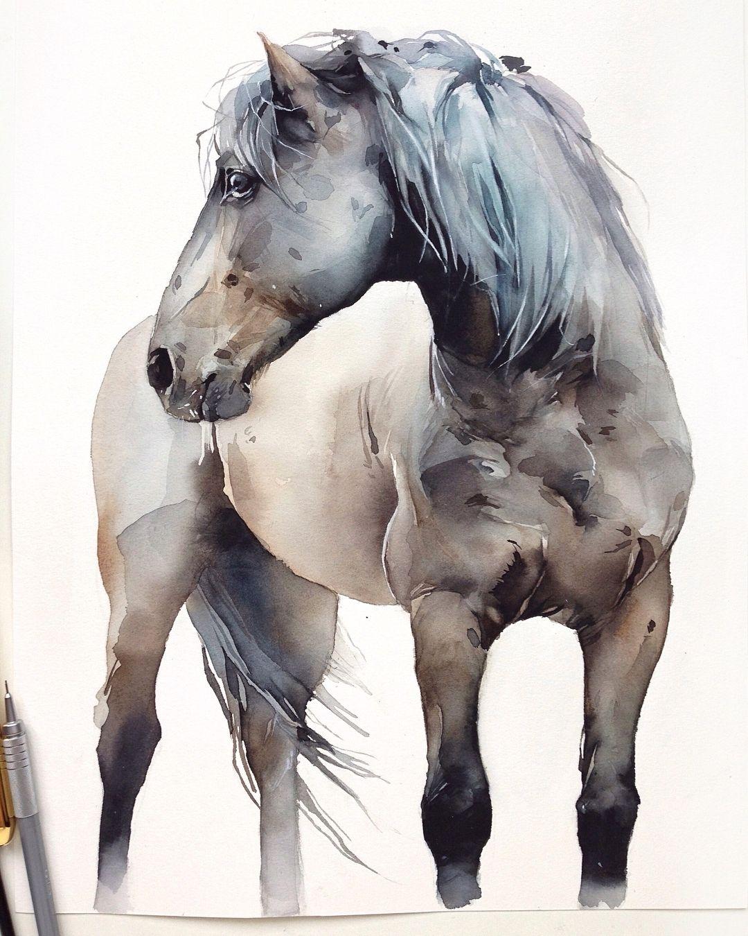 Watercolorist Kadantseva Natalia