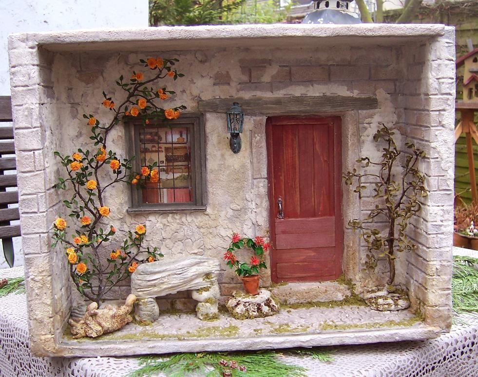 karin caspar miniaturen markt erftstadt hausfront pinterest miniatur puppenstube und. Black Bedroom Furniture Sets. Home Design Ideas