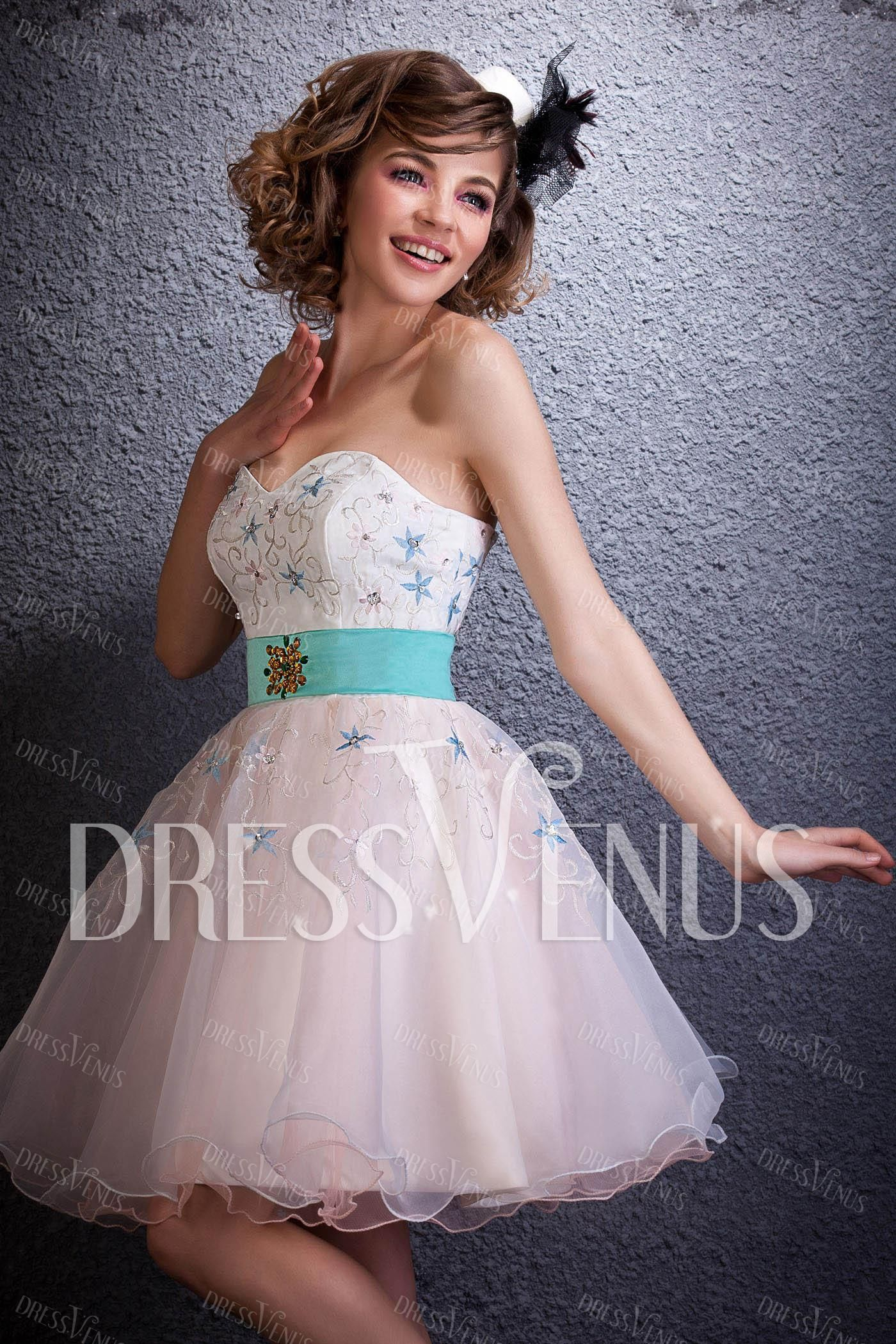 #MiniDress #A-Line Mini/Short-Length Cocktail/Prom Dress  #CocktailDress #