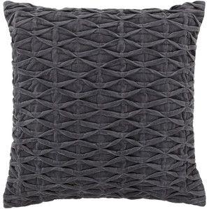 Tory Pillow in Dark Gray