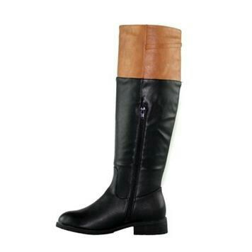 outlet latest collections buy cheap shop offer Olivia Miller Sutton Women's ... Knee-High Colorblock Boots free shipping release dates Cxf3maaR