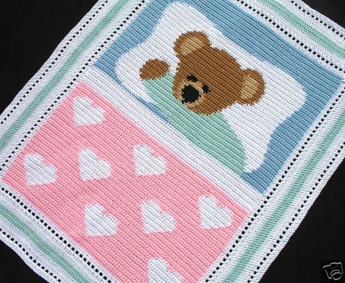 Crochet Patterns - SWEET DREAMS BABY BEAR *EASY