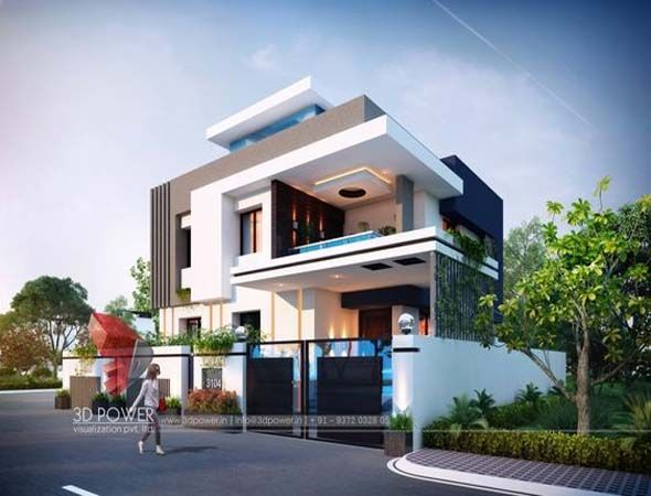 Modern bungalow design architecture also single floor bhk home small houses plans pinterest rh
