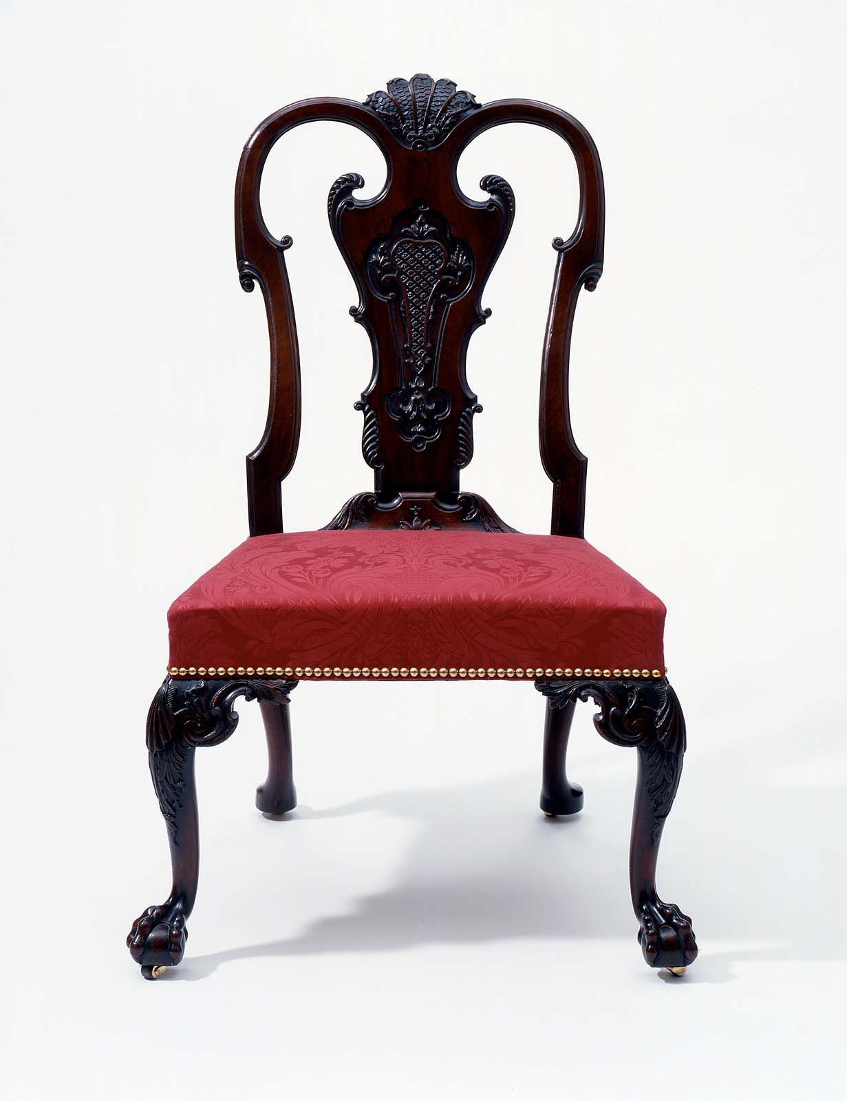 early american chair styles dark brown wood dining chairs side museum of fine arts boston antique furniture