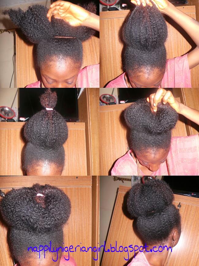 How To Get A Really Big Natural Hair Bun Big Natural Hair