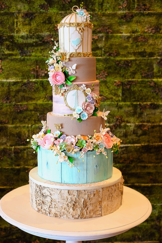1st Birthday Cake by Elegant Temptations Miami wwwetcakescom