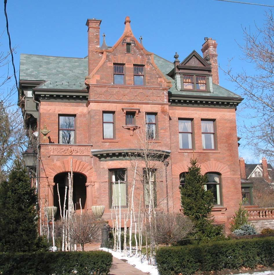 The Beautiful Mrs. Mary Davies House At 20 Elm Avenue In